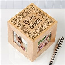 Personalized Photo Cube - Reasons Why - 16919