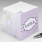 Personalized Sticky Note Cubes - Precious Moments - 16931