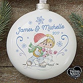 Personalized Precious Moments Couple Ornament - 16935