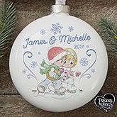 Personalized Precious Moments Couple Ornament - 16935