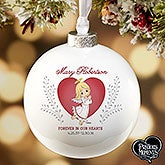 Personalized Precious Moments Memorial Ornament - 16936