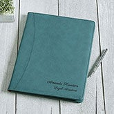 Personalized Full Pad Portfolio - Signature Series - 16939