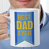 Personalized Oversized Coffee Mug - Award Winning Dad - 16948