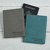 Personalized Passport Holder - Signature Series - 16957