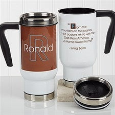 Personalized Commuter Travel Mug - 34 Quotes - 16974