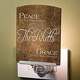 Personalized Night Light - Peaceful Welcome - 16979