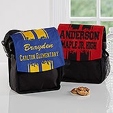 Personalized Lunch Tote - School Spirit - 16981
