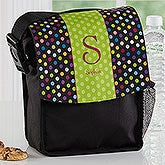 Personalized Lunch Tote - Polka Dots For Her - 16984
