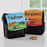 Personalized Lunch Tote - Just For Him - 16985