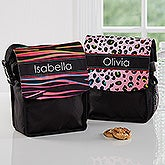 Personalized Lunch Tote - Animal Print - 16987