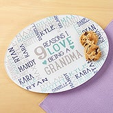 Reasons Why Personalized Glass Platter - 17035
