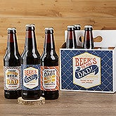 Beer's To You Personalized Beer Bottle Labels & Bottle Carrier - 17040