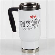 Personalized Commuter Travel Mug - Grandparent Established - 17048
