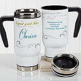 Personalized Commuter Travel Mug - Cup Of Inspiration - 17052