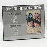 Personalized Twins Baby Frame - Precious Twins - 17081