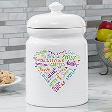 Personalized Cookie Jar   Close To Her Heart   17082