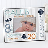 personalized baby picture frame sweet baby boy 17087