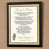 Lawyer S Prayer Personalized Wall Plaque Customer Reviews