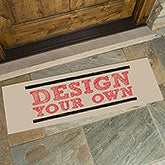 Design Your Own Personalized Oversized Doormat - 17100
