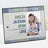 Personalized Picture Frame - Family Addition For Him - 17106
