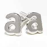 Initial Personalized Stud Earrings - 17116D