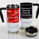 Personalized Commuter Travel Mug - All-Star Coach - 17134