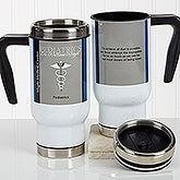 Personalized Commuter Travel Mug - Medical Professions - 17138