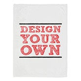 Design Your Own Personalized Fleece Blanket - 17146