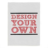 Design Your Own Personalized Fleece Baby Blanket - 17147