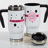 Personalized Birthday Commuter Travel Mug - Sweet & Sassy - 17177