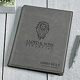 Personalized Logo Charcoal Junior Notepad - 17189