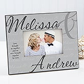 Love Brought Us Together Personalized Picture Frame  - 17206