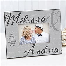 Personalized Romantic Picture Frame - Love Brought Us - 17206