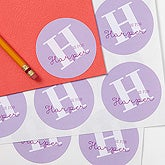 Personalized Kids Sticker Labels - Alphabet Fun - 17221
