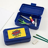 Personalized Super Hero Pencil Box - 17222
