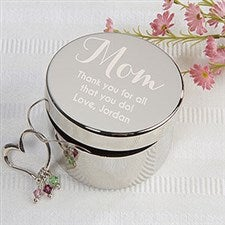 Personalized Jewelry Box - To My Mother - 17226