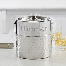 Hampton Collection Personalized Ice Bucket - 17227