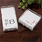 Personalized Linen Napkins And Guest Towels - 1722D