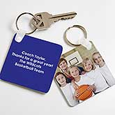 Personalized Key Chain - Picture Perfect Coach - 17240