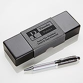 Personalized IT Pen Case And Stylus Pen Set - Sophisticated Style - 17248