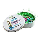 Chocolate Easter Egg Tin