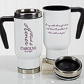 Personalized Wedding Party Commuter Travel Mug - Bridal Brigade - 17257