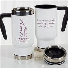 Personalized Wedding Party Commuter Travel Mug - Bridal Brigade - 17257