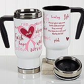 Personalized Commuter Travel Mug - Love Life - 17259