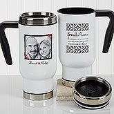 Personalized Romantic Photo Commuter Travel Mug - Soul Mates - 17266