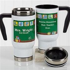 Personalized Teacher Commuter Travel Mug - Teacher's Little Learners - 17269