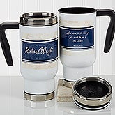 Personalized Lawyer Commuter Travel Mug - Inspiring Lawyer - 17270