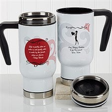 Personalized Commuter Travel Mug - What Friends Are For - 17289