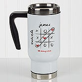 Love Always Wins! Personalized Commuter Travel Mug - 17293