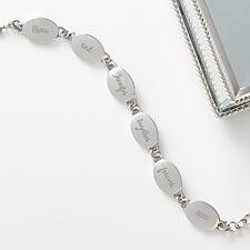 Personalized Link Bracelet - Loving Message - 17304